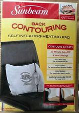 (3) SUNBEAM- BACK CONTOURING SELF INFLATING HEAT PAD