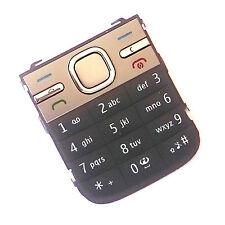 100% Originale Nokia c5-00 frontale TASTIERINO NUMERICO pulsanti tasti di chiamata di alimentazione del menu Grigio