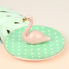 Sass & Belle piatto in ceramica Flamingo gioielli