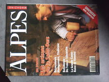 $$ Revue Alpes Magazine N°25 Saint-ours  Montgenevre  Belledonne  Grande Casse