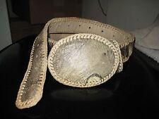 Handmade Lizard Unisex Belt Size 42 NEW