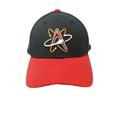 Albuquerque Isotopes Minor League Baseball Cap Fitted Hat Small-Medium Black Red