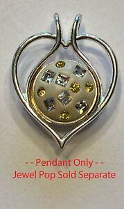 Kameleon Jewelry - KP16 - Open Heart Pendant