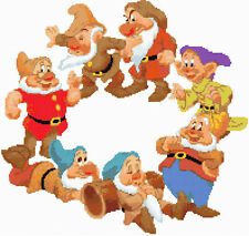 Snow White Seven Dwarfs Counted Cross Stitch Kit TV/Film Disney