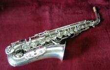 "Alt-Saxophon ""Weltklang"" versilbert   generalüberholt"