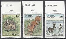 Åland / Aland Nr. 44-46** Säugetiere / mammals
