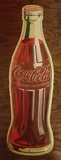 Embossed Large Metal Coke Coca Cola Soda Pop Bottle Sign decor display home