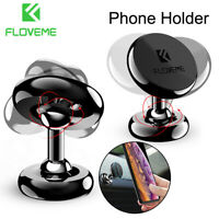 360° Universal Magnetic Car Phone Holder Dashboard Mount Stand For Cellphone GPS