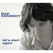 Bap Kennedy - Lets Start Again [CD]