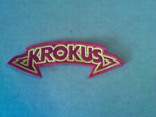 KROKUS,SEW ON EMBROIDERED PATCH