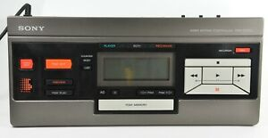 Sony RM-E100V Video Editing Controller for 8mm, VHS, Betamax, instructions incl.