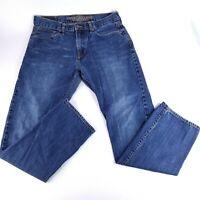 American Eagle Slim Straight Men's Size 34x34 Denim Jeans Med Wash (Meas. 34x32)