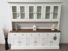 7ft New Solid Pine Painted Welsh Dresser - Dinning / Kitchen Unit.