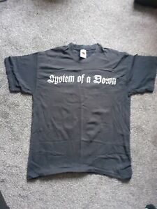 System of a down t shirt large 2005