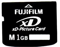 GENUINE 1GB FUJIFILM XD PICTURE CARD - MADE IN JAPAN BY TOSHIBA - OLYMPUS FUJI