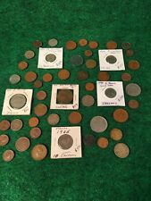 New ListingBest Lot of 50 Old Foreign World Coins Some With Original Luster Priced Low #C