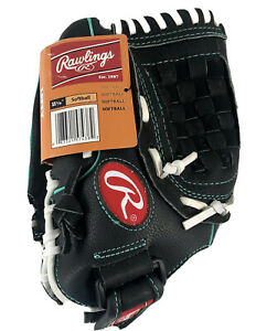 "Rawlings 11.5"" Left Hand Softball Glove Girls Fastpitch"