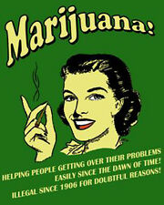 "Funny Retro Marijuana  Photo Fridge Magnet 2""x 3"" Collectibles"