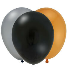 New Year balloons - mix of gold, silver and black. Fab for a party!