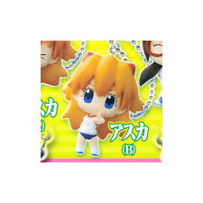Evangelion Puchi Asuka Pointing Mascot Key Chain Anime NEW