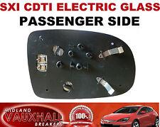 VAUXHALL CORSA C ELECTRIC HEATED WING MIRROR GLASS PASSENGER SIDE SXI LIFE CDTI