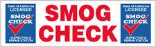 3x10 ft Vinyl Banner Sign New - SMOG CHECK Inspection Repair (CA)