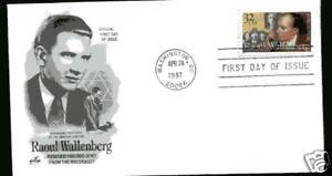 3135 Raoul Wallenberg ArtCraft FDC