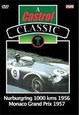Nurburgring 1000 Kms 1956 / Monaco Grand Prix 1957 (New DVD) Motor Racing DB3