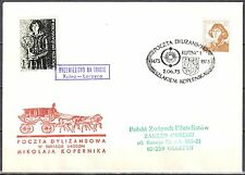 Poland 1973 -Stagecoach Post on the trail of Copernicus. Kutno - Leczyca