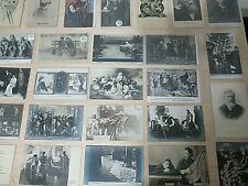 Rare Collection of 26 Russian Antique Postcards, Politicians, Theater Etc.  #A