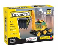Excavator BricTek Building Block Construction Toy Digger