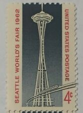 2 Seattle World's Fair Stamps - New & Unused