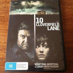 10 Cloverfield Lane DVD R4 Like New! FREE POST