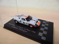 """Spark 1:87 - Ford GT40 #6 """"Winner Le Mans 1968 - Bianchi / Rodriguez"""" - 87LM68"""
