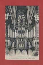 Carte postale ancienne Chartres Cathédrale Le buffet d'Orgue style Renaissance