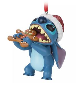 X1 BNWT Shop Disney Store Lilo & STITCH Cookie Christmas Decoration Ornament