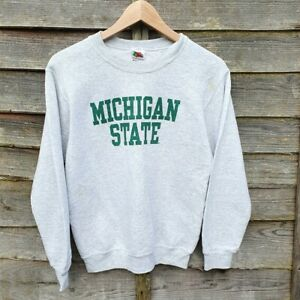 Vintage Michigan State University Sweatshirt From USA