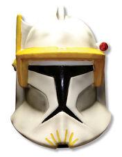 STAR WARS COSTUME MASCHERA, Mens Clone Wars CLONE TROOPER CODY Mezza Maschera, scadenzario 14 +