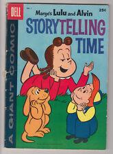Little Lulu & Alvin Storytelling Time # 1 Dell Giant 1959 Marge's Vg- 3.5
