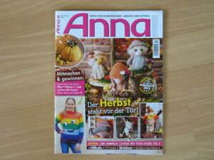 Zeitschrift für Handarbeiten ** Anna ** September  2021