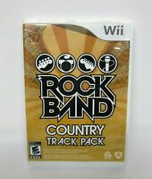 Rock Band Country Track Pack (Nintendo Wii, 2009) Wii Video Game with Manual