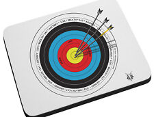 Archery Target Mouse Pad - Draw aim release Mouse Mat