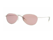New OLIVER PEOPLES OV1005S AERO 50364R Silver/Horn Violet Gradient Sunglasses