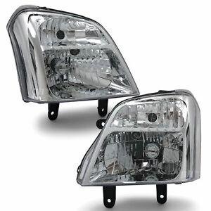Headlights PAIR fits Holden RA Rodeo 2003 - 2006