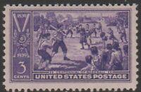 Scott# 855 - 1939 Commemoratives - 3 cents Sandlot Baseball Game