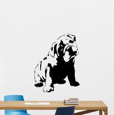 English Bulldog Wall Decal Dog Pet Animal Vinyl Sticker Nursery Decor Art 115aaa