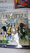 Final Fantasy 9 ,  Official Strategy Guide   PS     NEW
