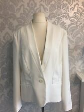 wallis  jacket size 20 ivory cream wedding guest occasion long sleeves button N