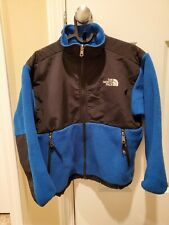 The North Face Denali Fleece Jacket Youth M Blue Long Sleeve Full Zip Coat