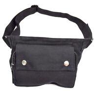 Seiten Sidebag Bauchtasche Gürteltasche Hüfttasche Stofftasche 3 Fächer Tasche